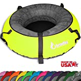 "Bradley Snow Tube with 57"" Neon Yellow Cover"