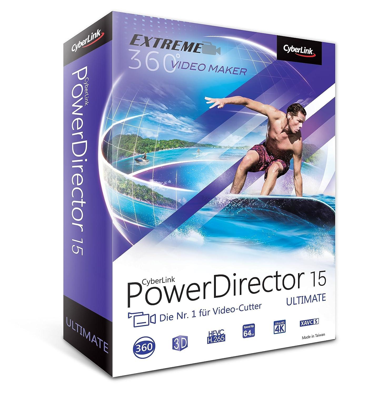 CyberLink PowerDirector 15 Ultimate: Amazon.de: Software