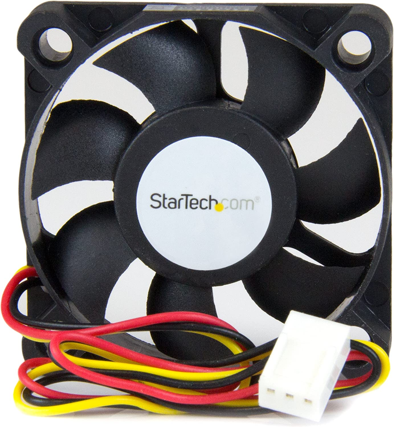 StarTech.com 50x10mm Replacement Ball Bearing Computer Case Fan TX3/LP4 Connector - 3 pin case Fan - TX3 Fan - 50mm Fan (FAN5X1TX3)