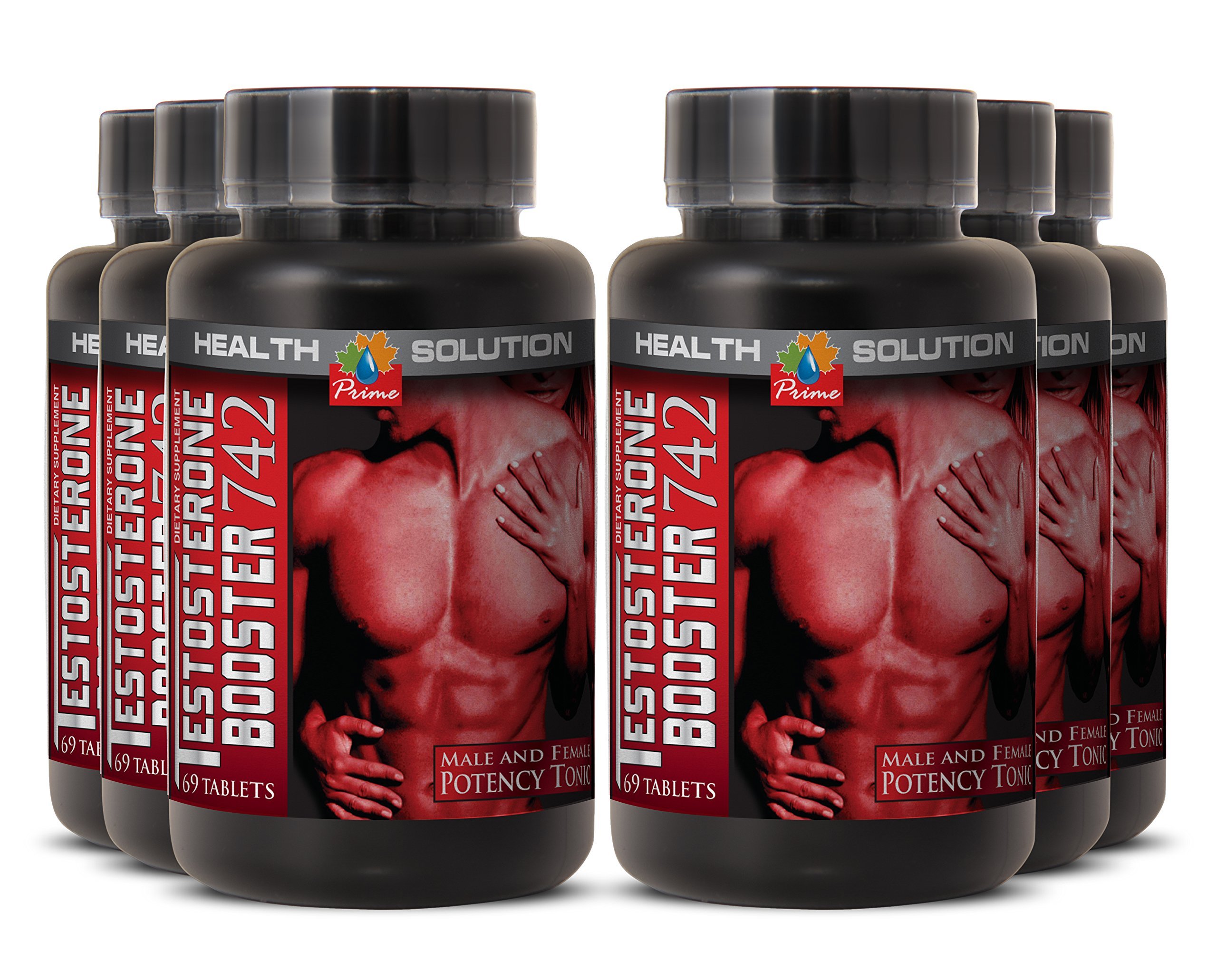 Nettle root extract powder - TESTOSTERONE BOOSTER 742MG - increase sexual function (6 Bottles)