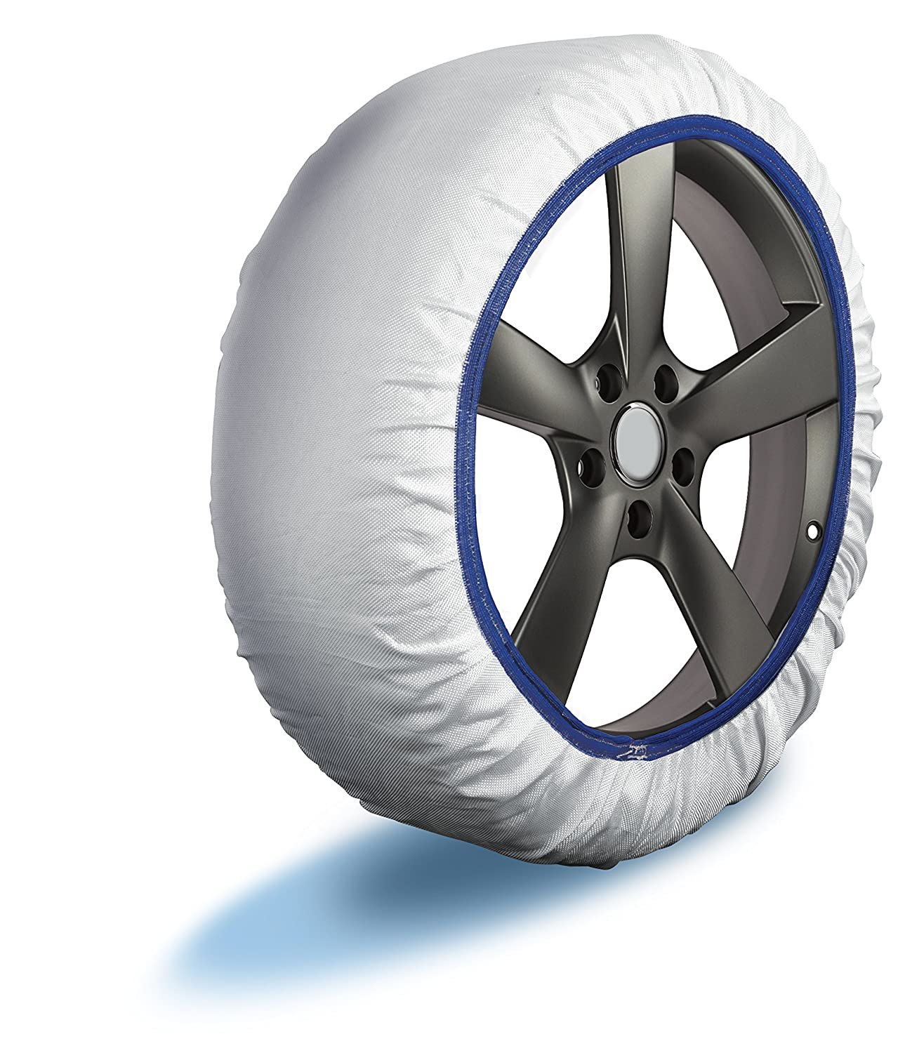 Husky Sumex Textile Winter Car Wheel Ice Frost /& Snow Chain Socks for 15 Tyres 215//70 R15