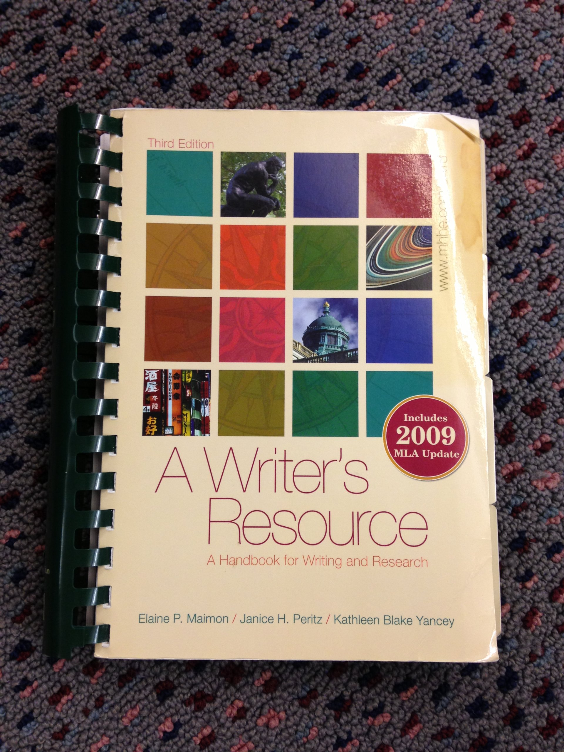 A Writers Resource Handbook For Writing And Research 3rd Edition Sacred Heart University 9780077467579 Amazon Books