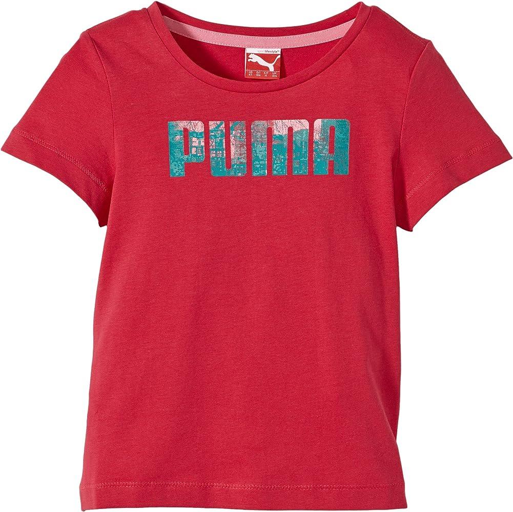 PUMA TD Logo - Camiseta, Color Rosa, Talla 6 años (116 cm): Amazon.es: Ropa y accesorios