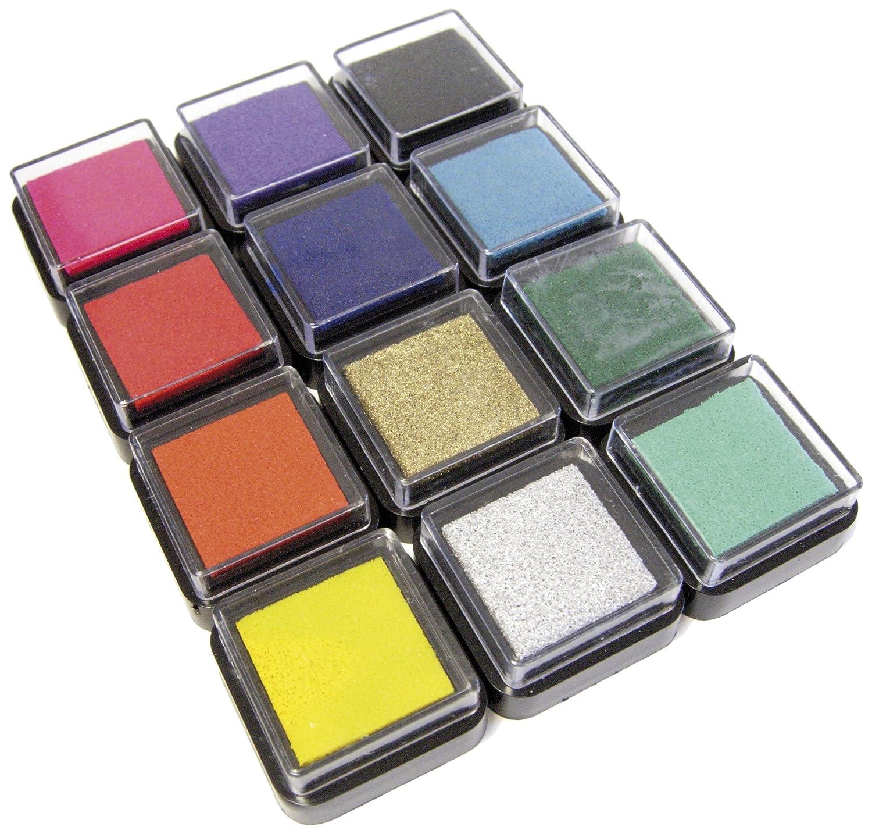 Eduplay 220061 12 tamponi inchiostrati con pigmento