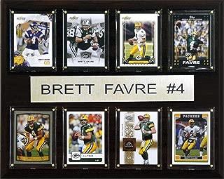 product image for NFL Brett Favre Minnesota Vikings 8 Card Plaque
