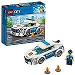 LEGO City Police Patrol Car 60239 Building Kit (92 Piece)