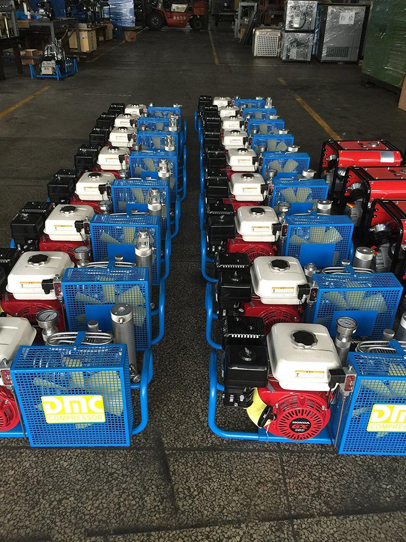iorman Original 100L/min 5.5hp gas-powered Compresor De Aire sistema de relleno de gas con Honda GX Driven Motor (gasolina Driven): Amazon.es: Coche y moto