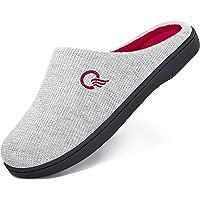 Zapatillas de Estar por Casa Mujer Hombre Pantuflas Memory Foam CáLido Antideslizantes Interior Al Aire Libre