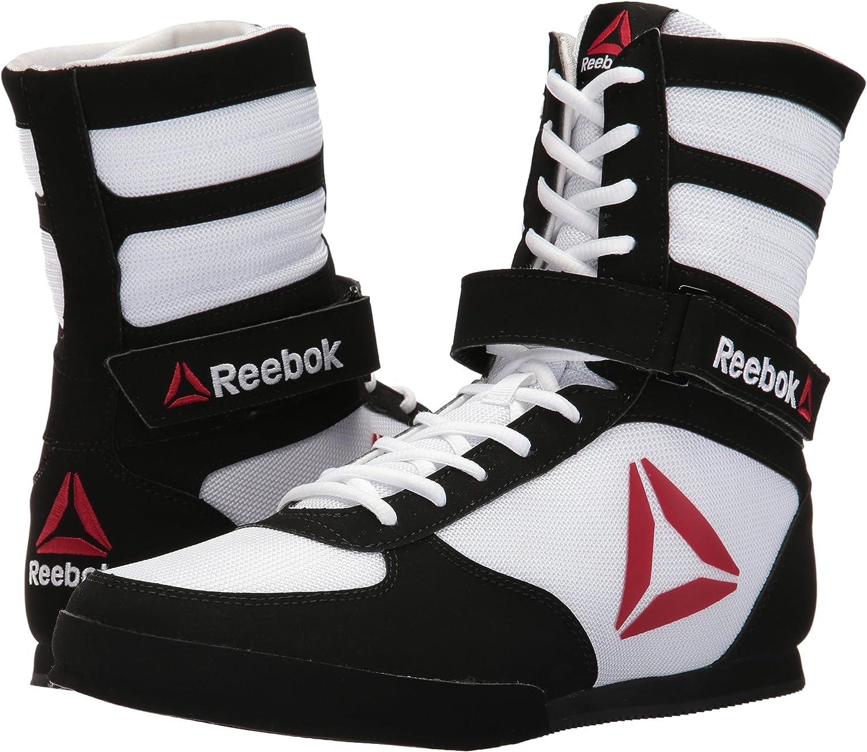 Adecuado usuario Fotoeléctrico  Amazon.com | Reebok Men's Boxing Boot-Buck Sneaker | Athletic