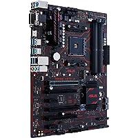 ASUS Prime X370-A Motherboard, ATX, AMD Ryzen, AM4, DDR4, HDMI, DVI, VGA, M.2, USB 3.1