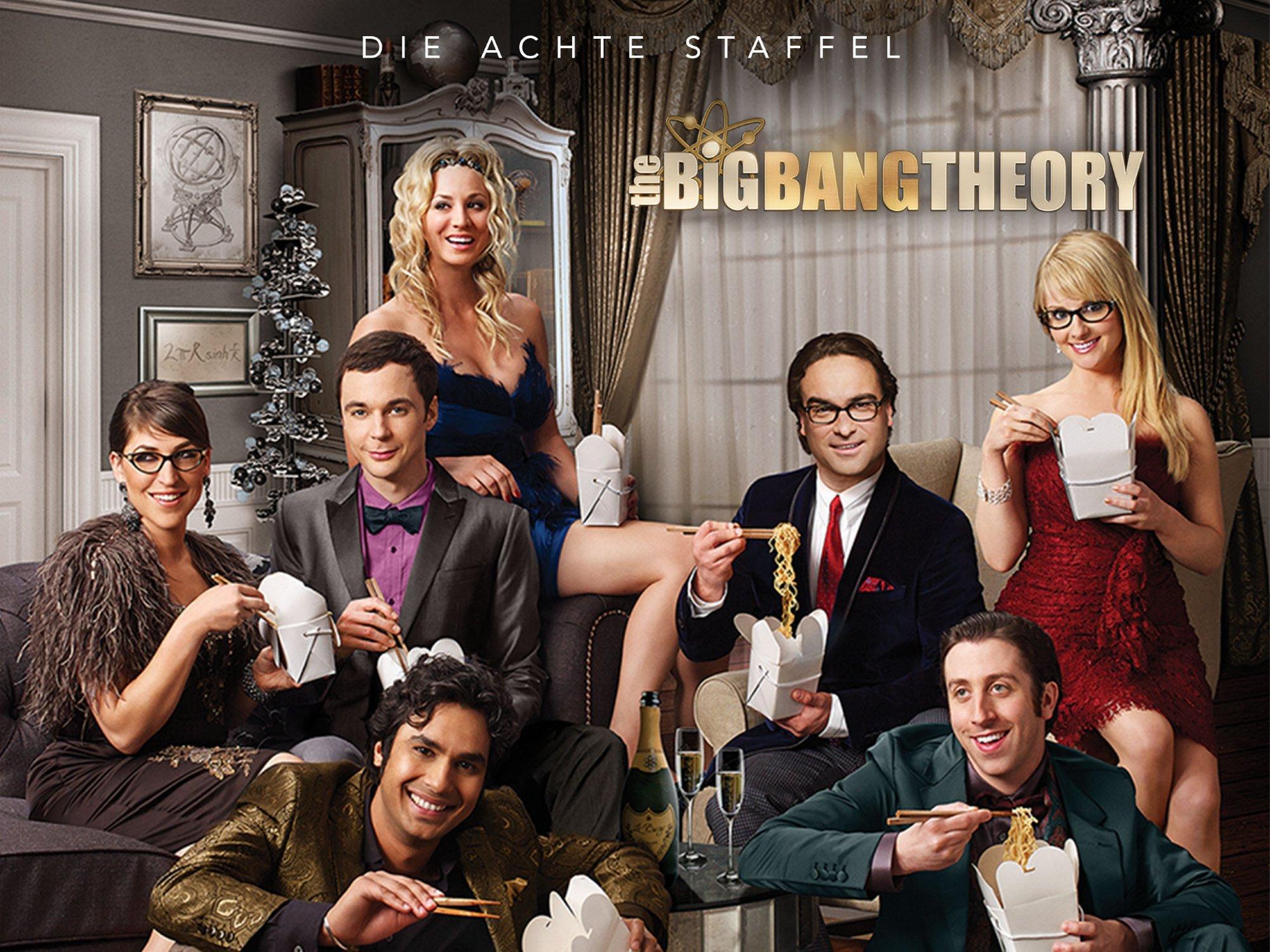 Amazonde The Big Bang Theory Staffel 8 Dtov Ansehen Prime