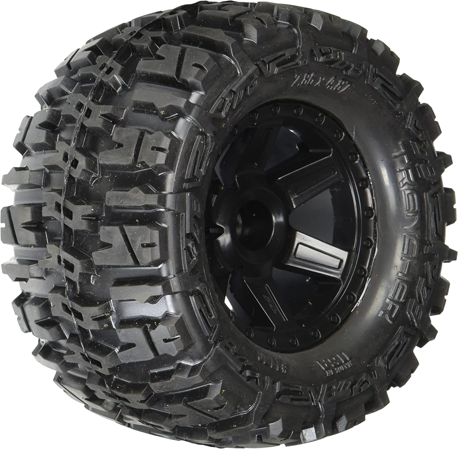 "Proline 117012 Trencher 2.8"" All Terrain Tires Mounted for Jato, Nitro, Stampede"