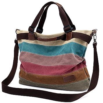 3b36adf57dc0b Damen Handtasche Canvas