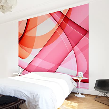Non-woven Wallpaper - Miracle Structure - Mural Square wallpaper ...