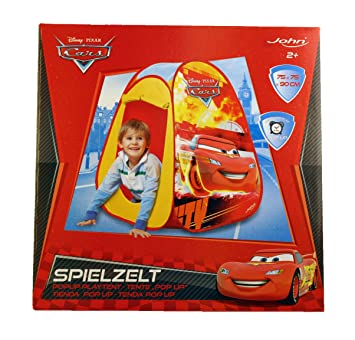 hot sale online fdc37 2b23f Disney Cars Pop Up Play Tent Wendy House Den & Carry Bag ...