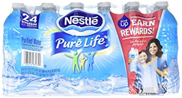 4caf4b4119 Nestle(R) Pure Life(TM) Purified Bottled Water, 16.9 Oz., Case Of 24 ...
