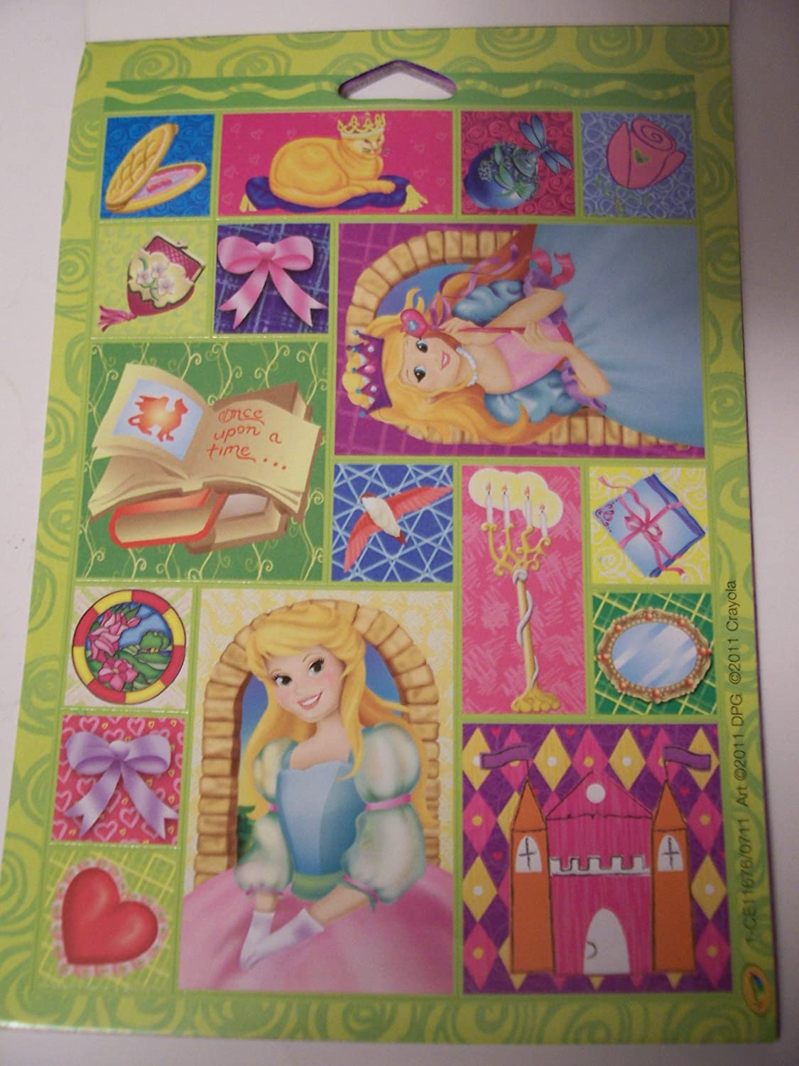 Ultra-Removable Stickers Crayola Unstickables ~ 305 Pretty Princess Stickers