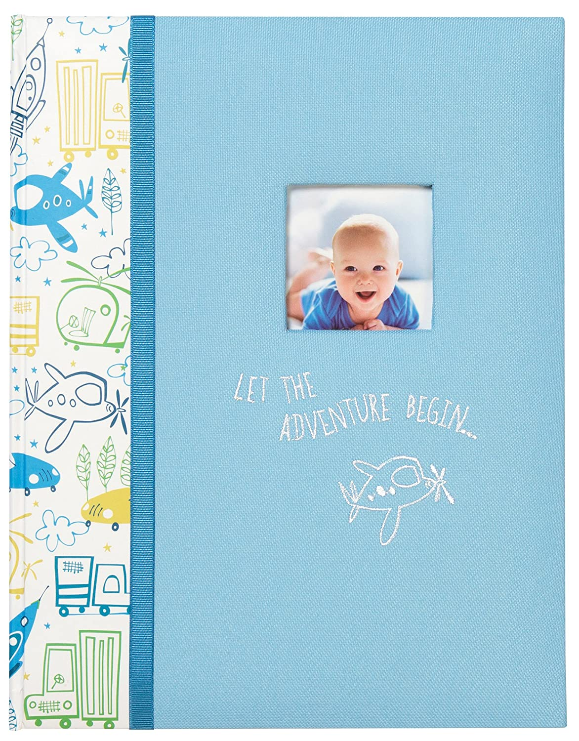 C.R. Gibson Grandmas'Let the Adventure Begin Brag Book for Babies and Newborns, 20 Pages, 7.25 W x 4.5 H 7.25 W x 4.5 H C.R. Gibson - Baby BP73-18282
