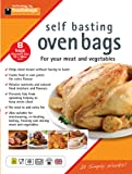 Toastabags Standard Roasting Bags, Transparent, 25 x 38 cm, Pack of 8