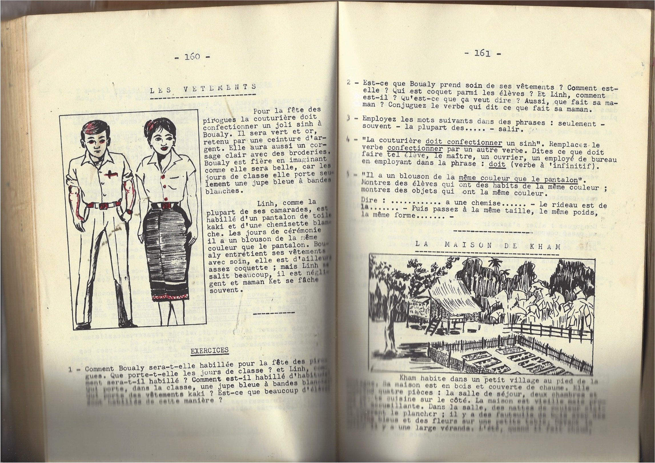 Choix De Lectures Pour Les Ecoles Du Laos Cours Superieur