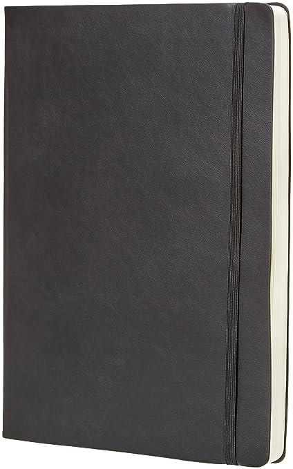 AmazonBasics - Agenda y diario, 21.6 x 28 cm, tapa blanda