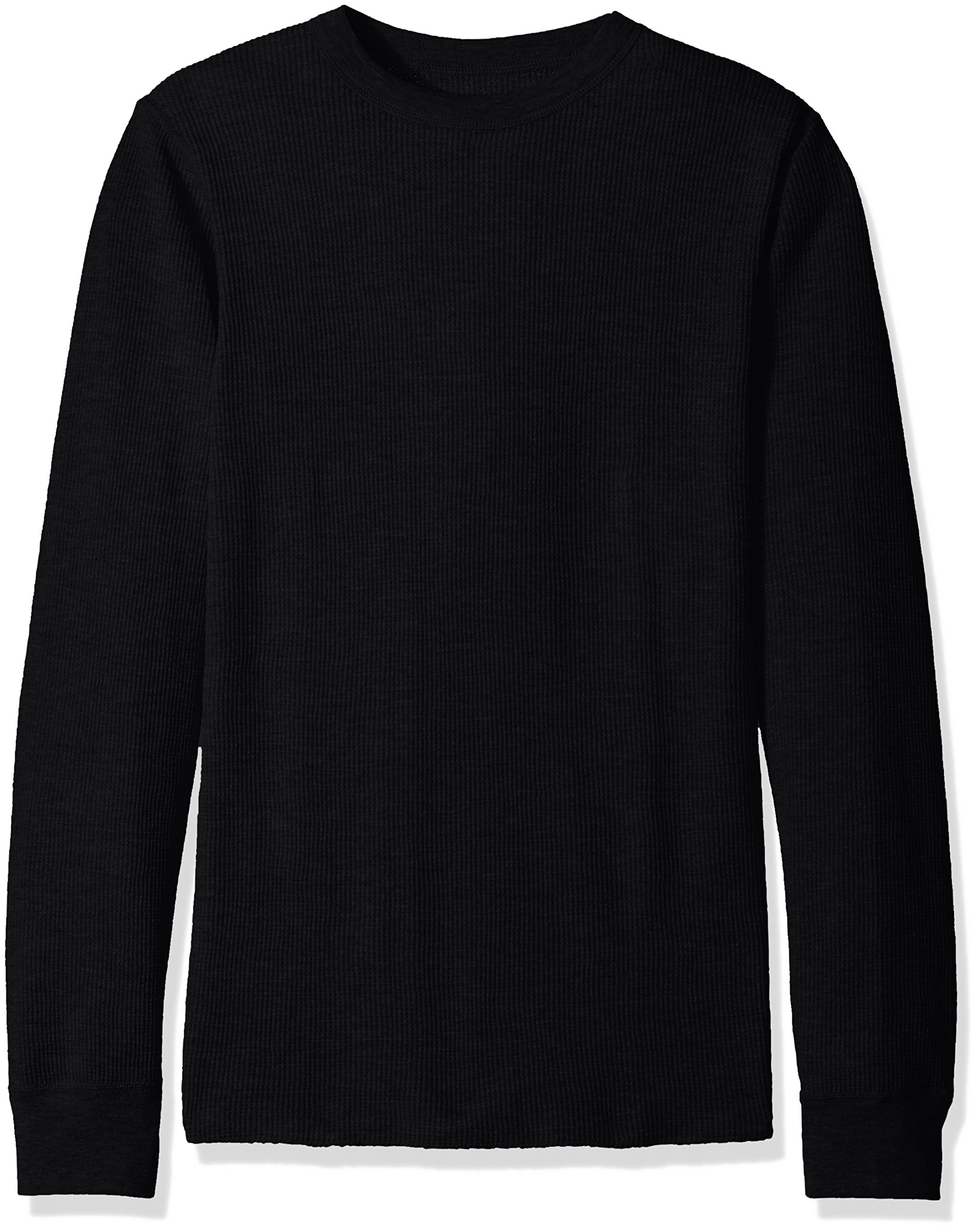 Hanes Men's Big Ultimate Thermal Crew, Black, Medium