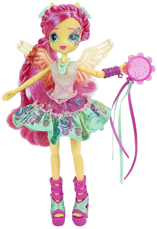 My Little Pony Equestria Girls Rainbow Rocks Fluttershy Rockin - Rockin hairstyles dolls