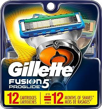 Gillette Fusion5 ProGlide Men's 12 Razor Blades