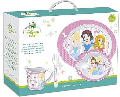 5 piezas para microondas Set - Disney Princess: Amazon.es: Bebé