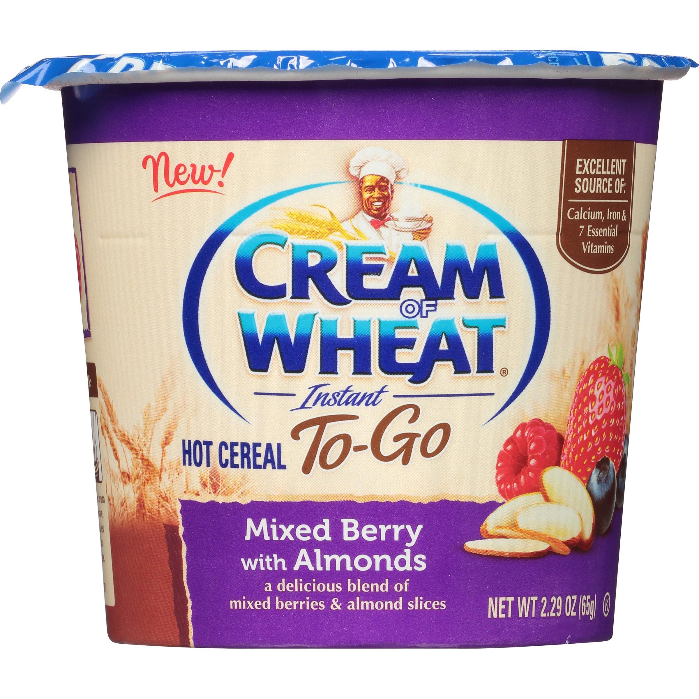 Amazon.com: Cream Of Wheat, Hot Cereal To Go, Cinna-Apple