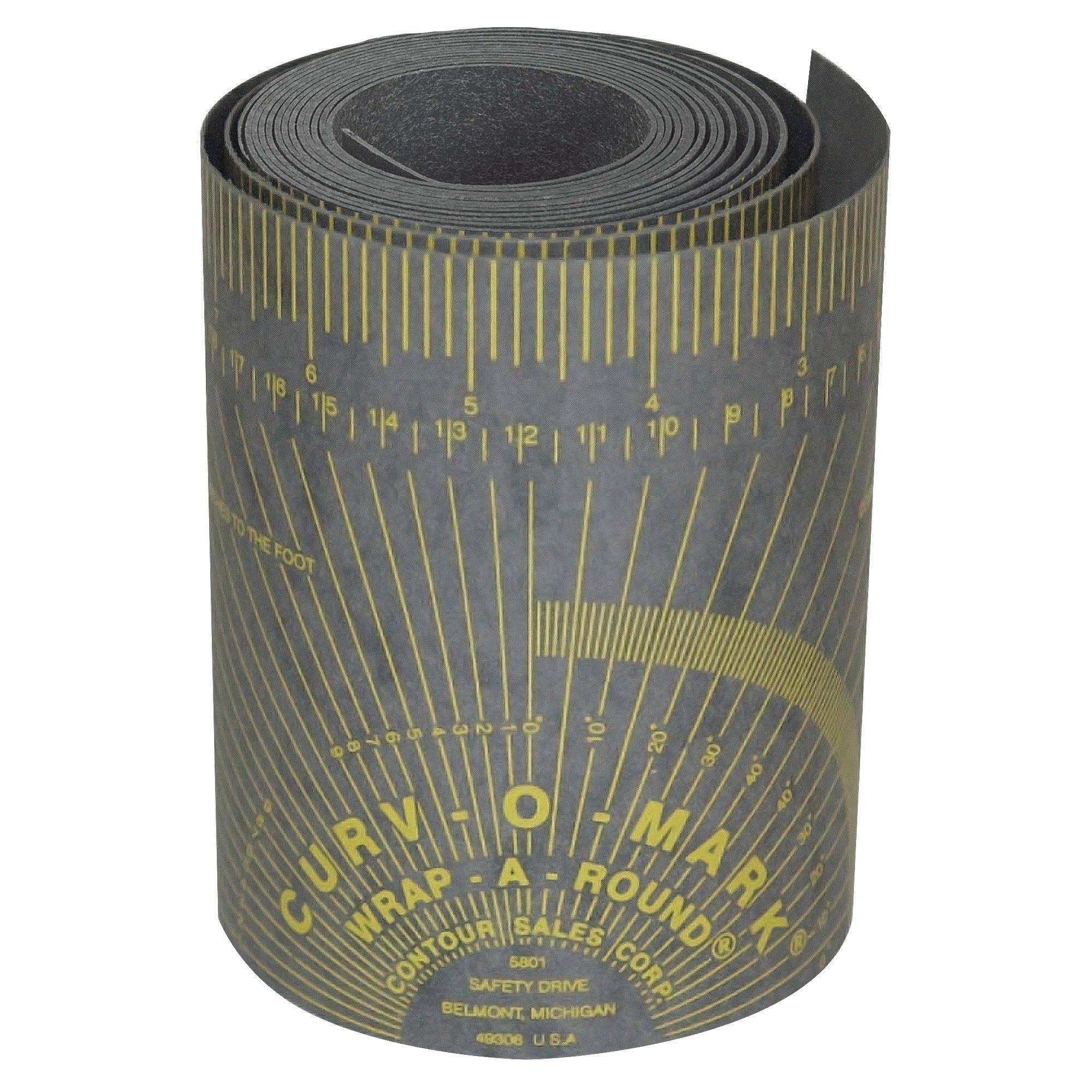 "Jackson Safety Contour Wrap-A-Round Pipe Marking Tool (14767), Gray, XX-Large, 5"" to 9', 1 / Case"