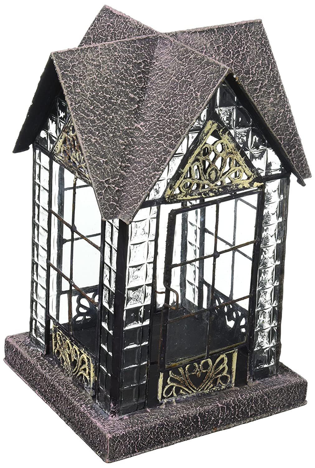 Handcrafted English Devonshire Lantern Tea Light Candle Holder - ChristmasTablescapeDecor.com