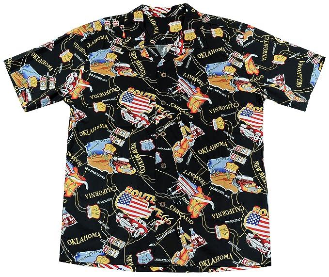 High Surf Men's Hawaiian Aloha Shirt Cruise Tropical Beach