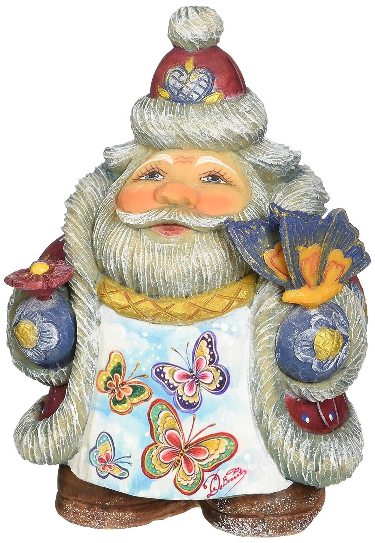 G Debrekht Illustrated Santa with Butterflies 533411