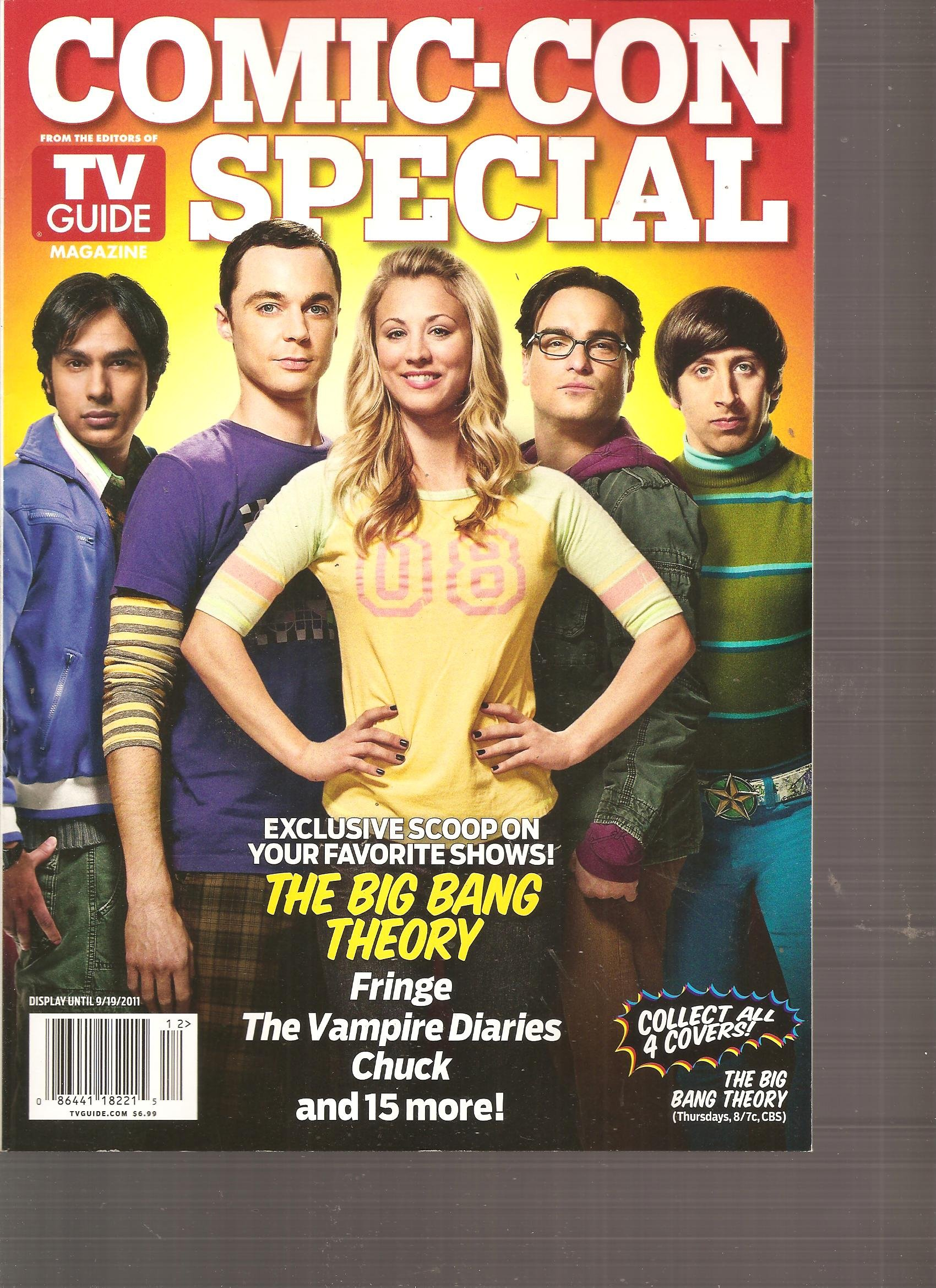 Download Comic-Con Special TV Guide (The Big Bang Theory Cover, 2011) pdf
