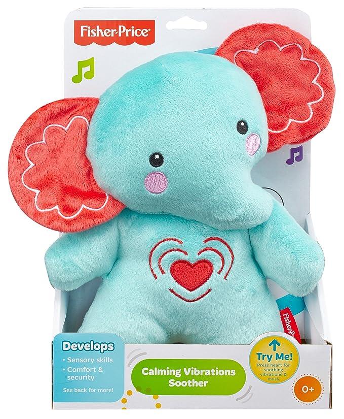 Fisher-Price - Elefante música y Vibraciones (Mattel BFL65)