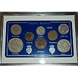 1956 GB Great Britain British Coin Birth Year Vintage Retro Gift Set (62nd Birthday Present or Wedding Anniversary)