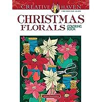 Mazurkiewicz, J: Creative Haven Christmas Florals Coloring B