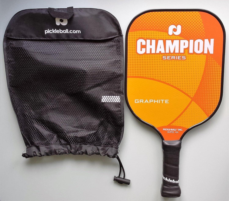 Pickle-ball, Inc. Grafito campeón Pickleball paleta, Solar Orange ...