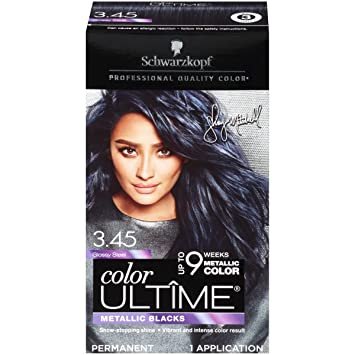 f0e324a6199fea Image Unavailable. Image not available for. Color: Schwarzkopf Color Ultime  Metallic Permanent Hair ...