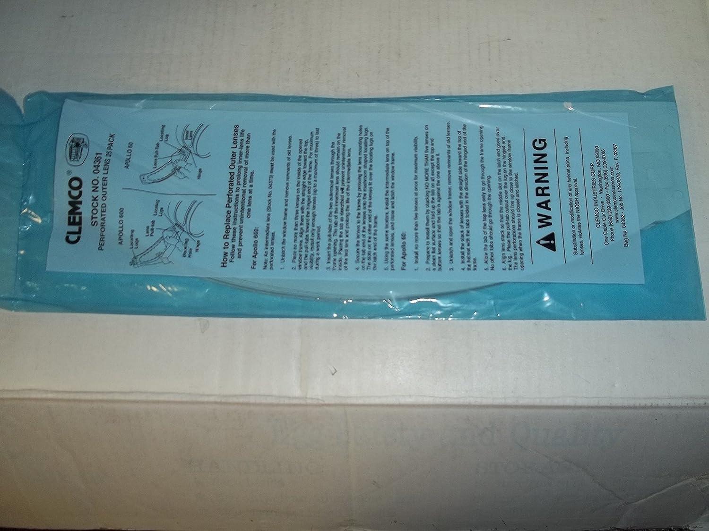 CLEMCO APOLLO 600 SANDBLASTING HELMET  RECTANGLE OUTER LENS Pack Of 25
