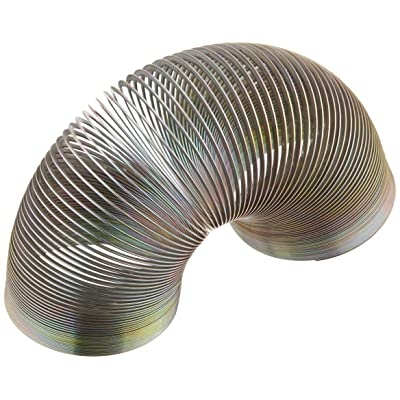 Rhode Island Novelty 12 1 inch Metal Slinky Springs for Party Favors: Toys & Games
