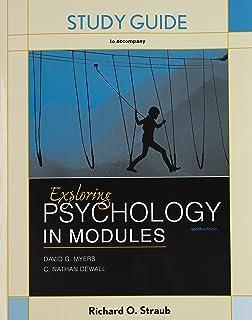 Amazon Com Exploring Psychology In Modules 9781464154386 David G