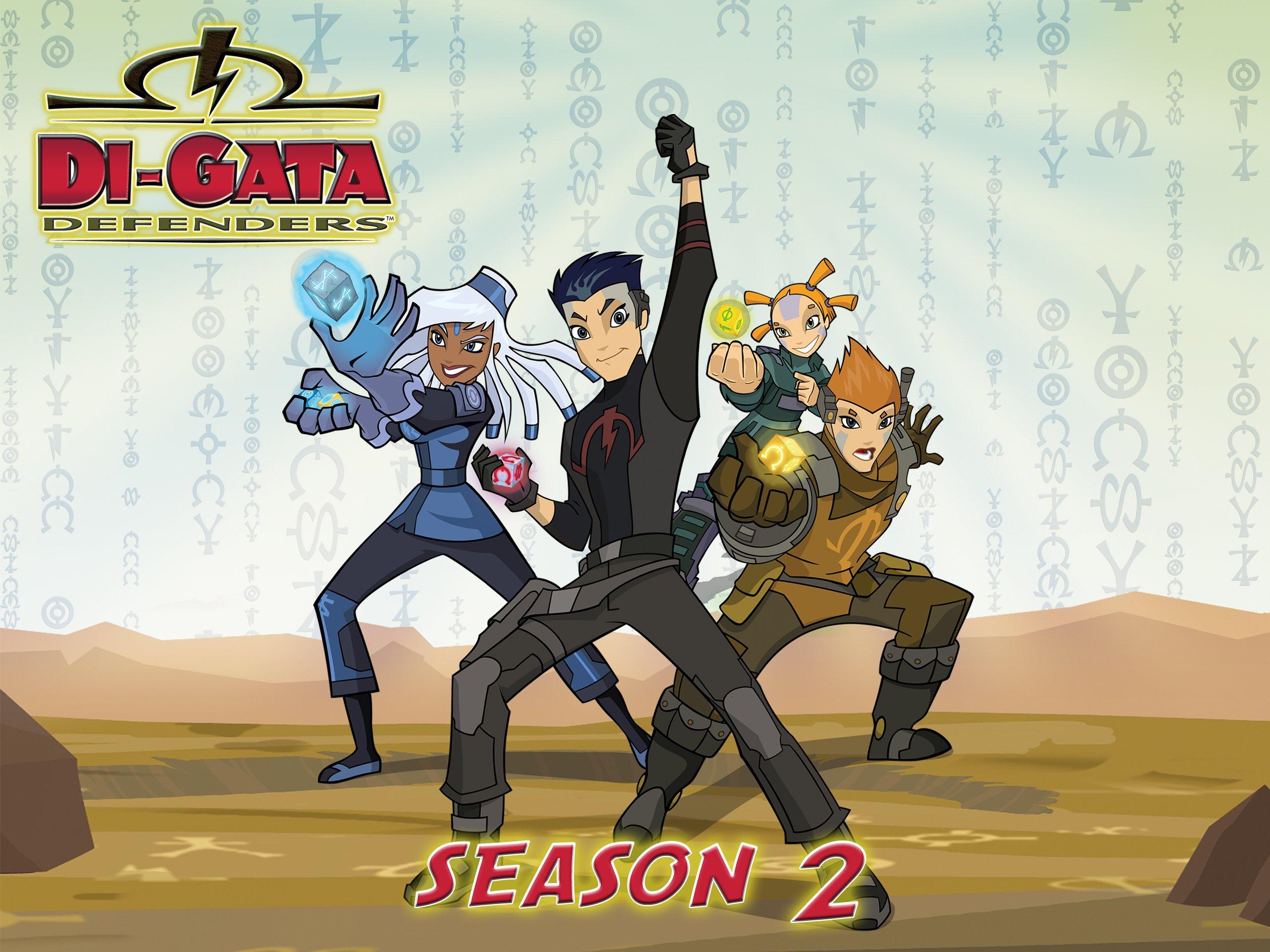 Amazon.com: Di-Gata Defenders Season 2: Noah Cappe, Martha ...
