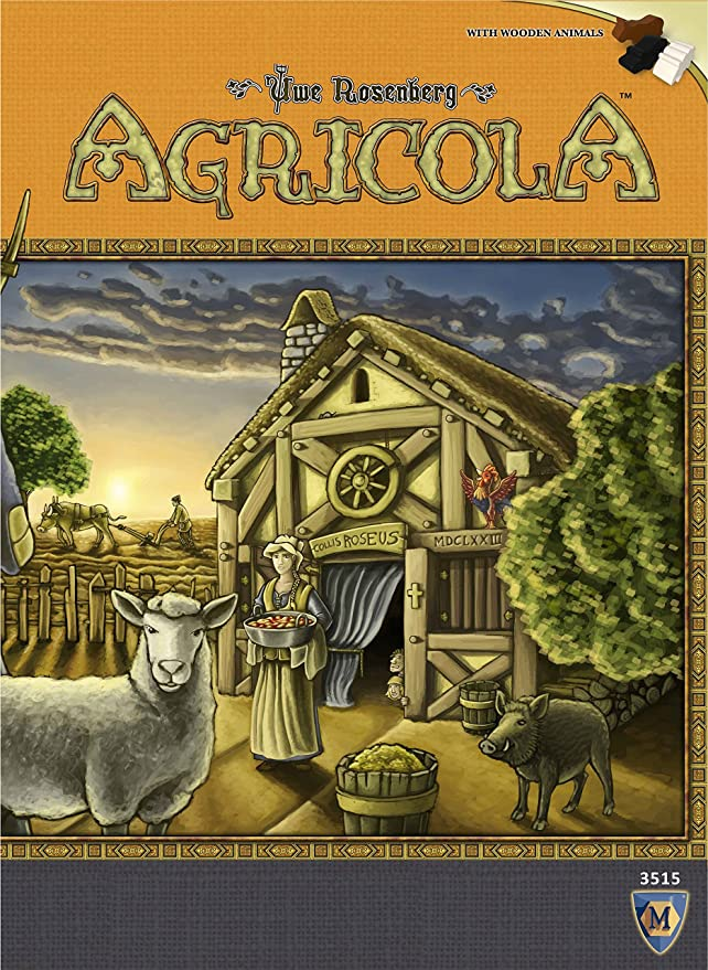 Mayfair Agricola - Base Game - English: Amazon.es: Juguetes y juegos