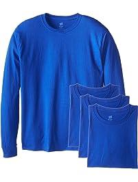 Hanes Men's Long Sleeve Comfort Soft T-Shirt