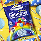 WinkyBoom Balloons Assorted Color 12 Inches 110