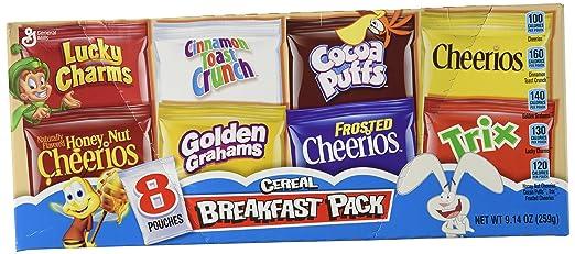 General Mills, varios colores caja de cereales para el ...
