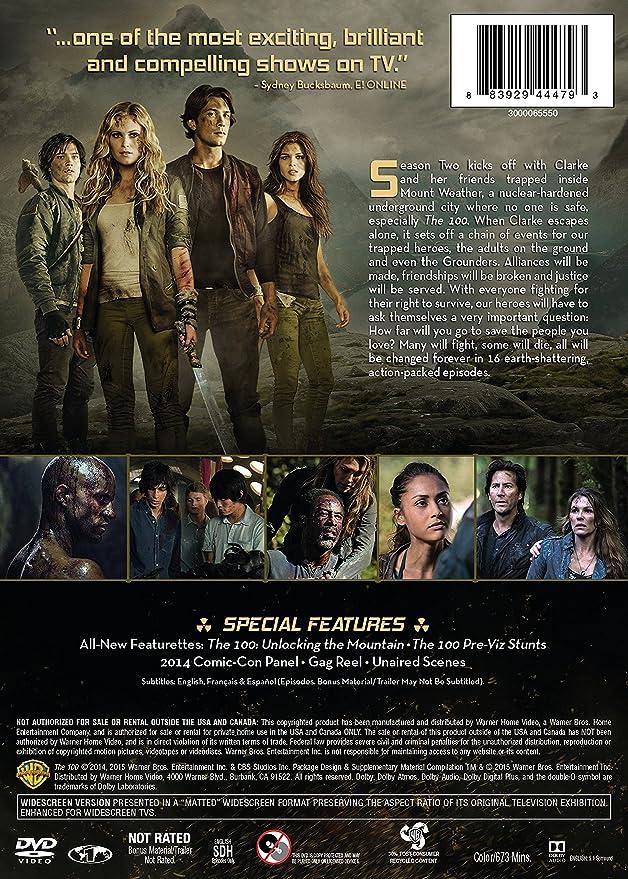 The 100: Season 2: Amazon ca: Kass Morgan, Eliza Taylor