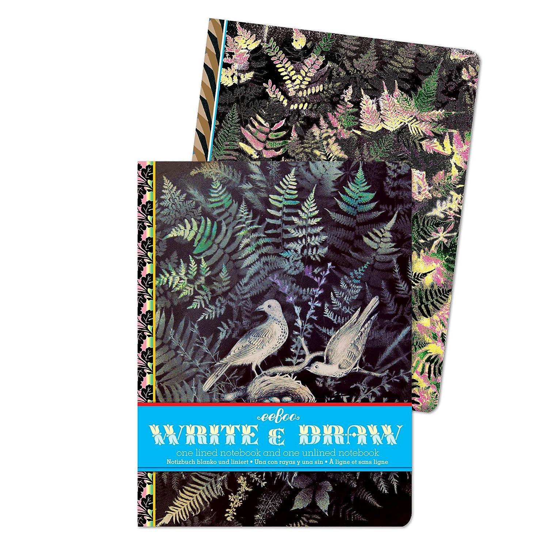 EeBoo – Notizbuch und Zeichnungen – Tauben